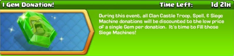 1 gem donation banner
