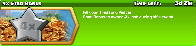 4x Star Bonus banner
